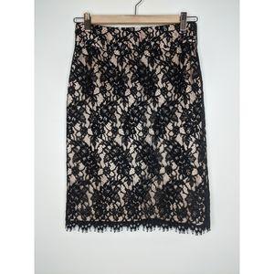 Banana Republic Skirts - Banana Republic Lace Midi Pencil Skirt